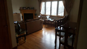 Available June 1st. clean, spacious furnished room on bus route!