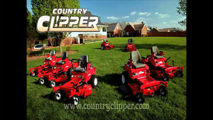 *** Country Clipper zero turn mower sale ***