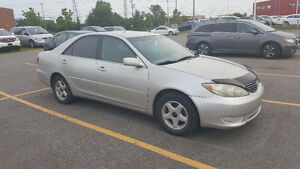 2005 Toyota Camry LE A/C