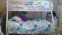 Bunk bed and matching bedding sets