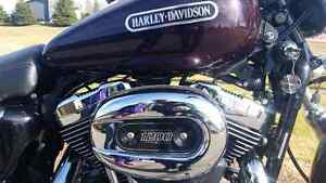 2007 lady driven Harley sportster.1200cc