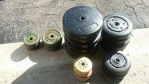 Weider and York Dumbell Weights