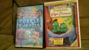 Franklins Christmas/Bubble Guppies DVD