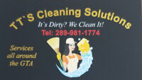 TT'S CLEANING SOLUTIONS (289)-981-1774 OPEN 24/7 BOOK TODAY!!!