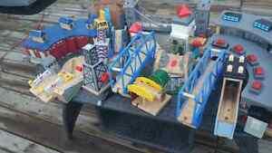 Thomas the train tracks and trains.