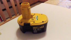 Dewalt  Battery & Charger for sell