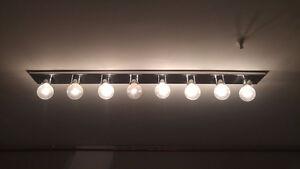 Luminaires avec ampoules comprises