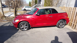 Pt cruiser gt turbo convertible 2005