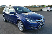 1 OWNER VAUXHALL ASTRA 1.6i SXi, LOW MILEAGE