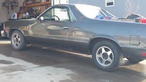 1981 Chev El Camino (complete Project car)