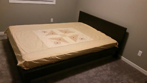Ikea malm queen bed frame in good condition