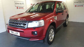 Land Rover Freelander 2 2.2eD4 ( 150bhp ) 2wd GS red 2011