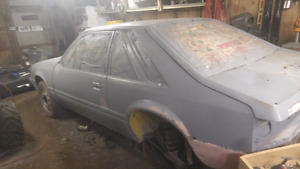 1986 mustang project