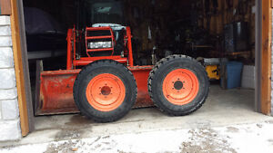 Two tractor tires  10-16.5