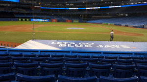 Blue Jays Home Opener section 126 - March 28