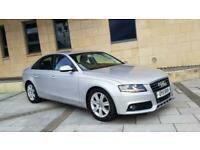 Audi A4 2.0TDIe 136ps 2011MY Technik, SILVER, 85K, £30 ROAD TAX, LEATHER, NAV