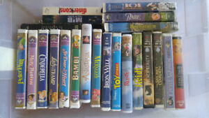 VHS movie lot
