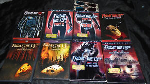 Friday the 13th movies (DVD)