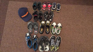 Boys Shoes and Hat