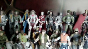 Gi JOE COLLECTION - SMALLER FIGURES ( For a 2 year old )