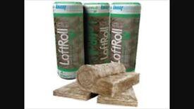 Loft insulation rolls earthwool only £10 each