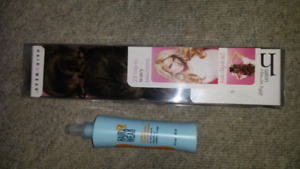 """Jessica Simpson /Ken Paves 23 """"Clip In WAVY Hair Extensions"""