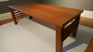 Vintage Canadian made teak coffee and end tables