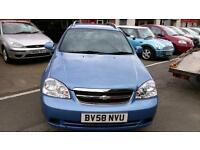 CHEVROLET LACETTI 1.6 ESTATE VERY LOW MILES 1 OWNER SERVICE HISTORY 2008 58 REG