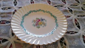 "FINE BONE CHINA 8"" PLATE, MINTON, ENGLAND"
