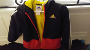 Three boys fall/winter jackets sizes 8/10/12 in great condition.