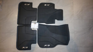 BMW X3 NEW WINTER MATS (2018 & 2019)