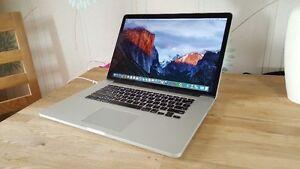 MacBook pro 15,Intel i7 2.0GHz,4GB RAM,500GB HD,El Capitan