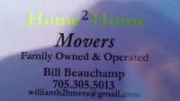 HOME 2 HOME MOVERS...PETERBOROUGHS BEST CHOICE