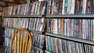 DVD BLOWOUT  PRICE REDUCED TO  $1.00 EACH