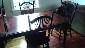 Dining Set Table & Chairs
