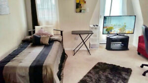 1 fully furnished bedroom for short term rental