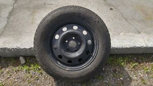 """2016 Dodge journey 17""""studded winter tires and rims."""