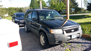 2001 ford escape 4x4