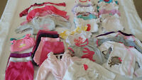 3 - 6 MONTH GIRL CLOTHING (Lot D)