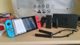 Nintendo switch neon Bargin