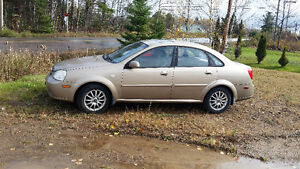 2005 Chevrolet Optra Sedan