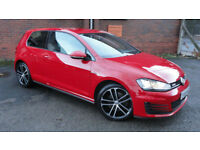 2014 64 reg Volkswagen Golf 2.0TDI ( 184ps ) ( BMT ) GTD 1 OWNER