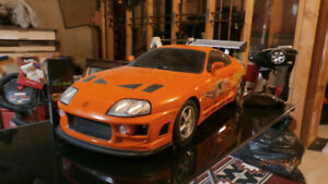 Large-Scale The Fast and the Furious Toyota Supra RC Car