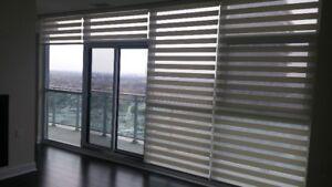 ZEBRA , SILHOUETTES,DUAL SHADES, FAUX WOOD,VERTICAL BLINDS