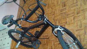 BMX 20 inch, good riding condition, color black