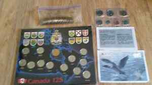 Collector coin sets and olympic lucky loones