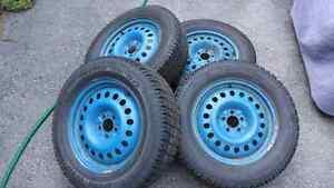 Winter tires & rims 235/65R18