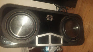 subwoofers and amp package