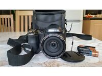 Fujifilm FINEPIX S, with bag.