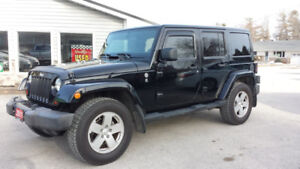 2011 JEEP  WRANGLER UNLIMITED SAHARA Black $18,500 Both Tops!!!